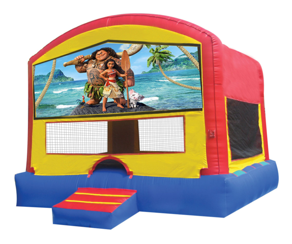 Moana Panel Bounce House