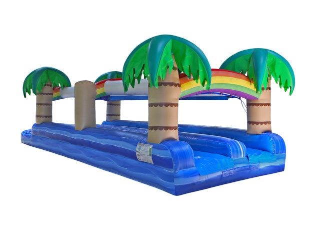 Tropical Dual Slide and Splash