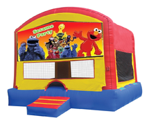 Fun House Bounce with Elmo Panel
