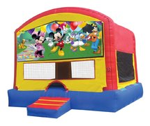 Fun House Bounce with Minie Mouse Panel