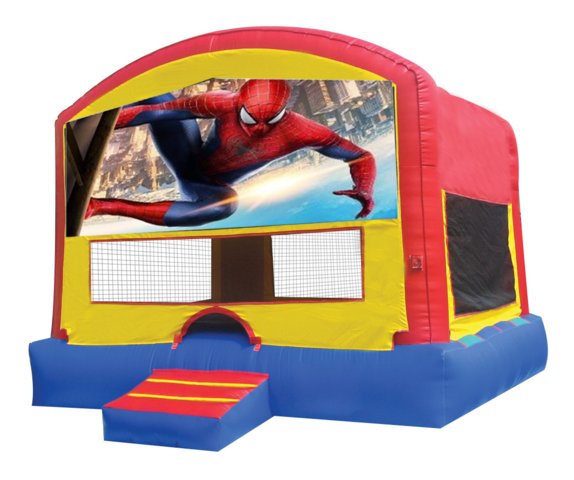 Spider-Man Panel Bounce House