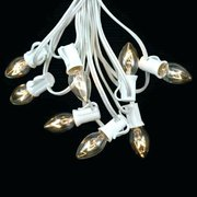 LIGHTS STRING  WHITE (80 FEET SECTIONS)