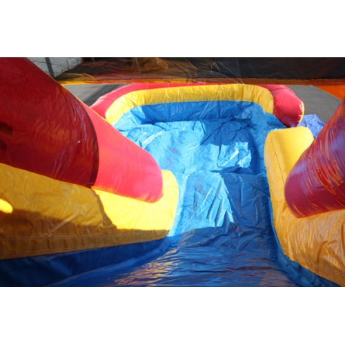 Double Lane Water Slide Rentals in Austin TX