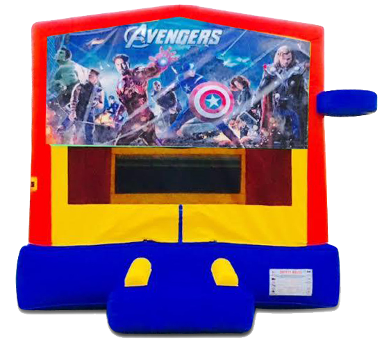 Cedar Park Avengers Bounce House