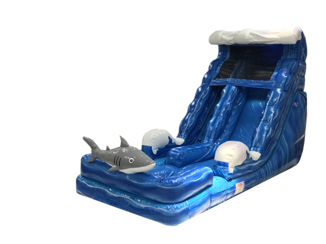 Shark Water Slide 18'