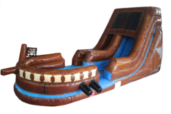 Pirate Ship Water Slide 15ft