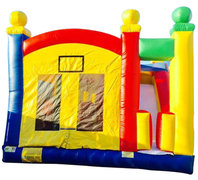 Super Kids 5-n-1 Combo Bounce House Rental ( Dry Only)