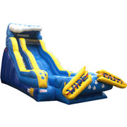 20ft Wipe Out Water Slide