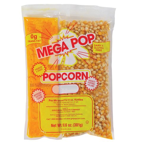 Popcorn Supplies 27 Servings