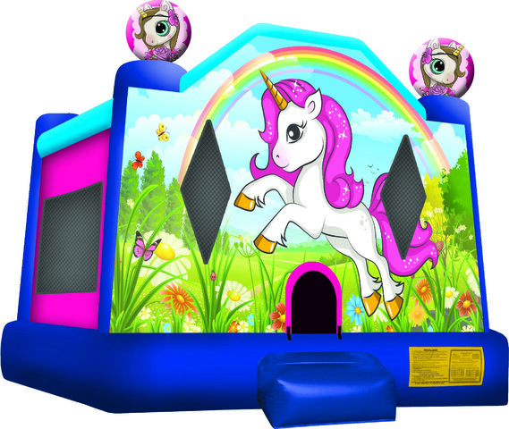 AVAILABLE APRIL 20TH - 17x16 (Large) Unicorn Jump