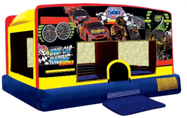 Stock Car Race Mini Bouncer