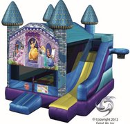 Princess Printed Castle 5/1 Combo