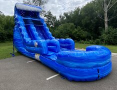 18 Ft Tsunami Water Slide