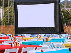 Outdoor Movie Nights and Projection Systems