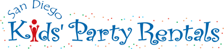 San Diego Kids' Party Rentals Logo