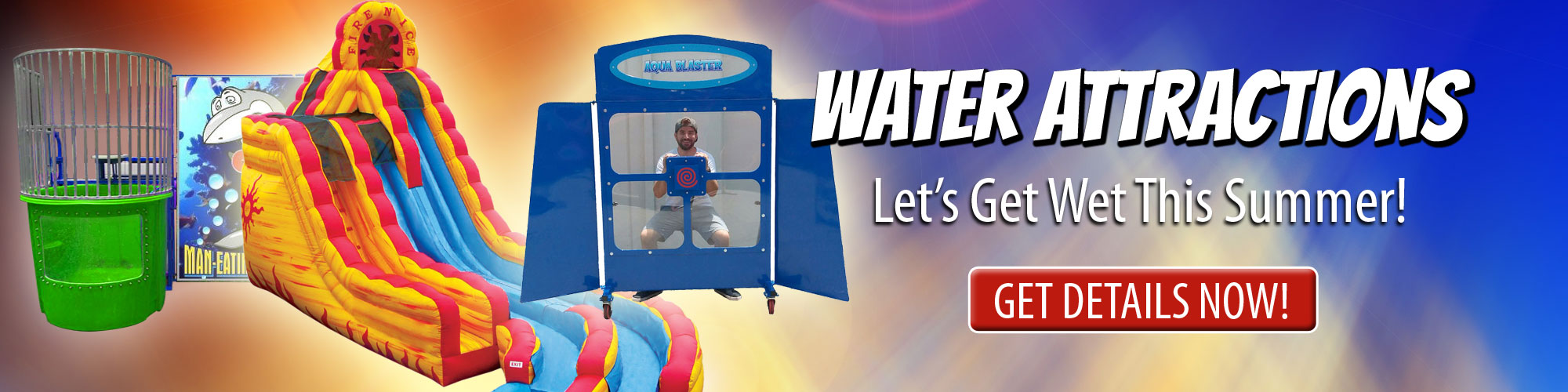 Water Attraction Rentals