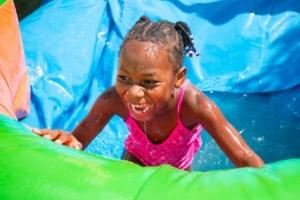 best water slide rental Del Mar