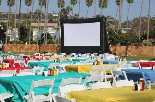 20 ft outdoor movie screen