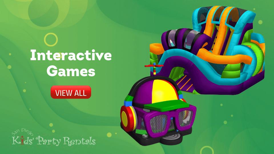 La Jolla Interactive Game rentals