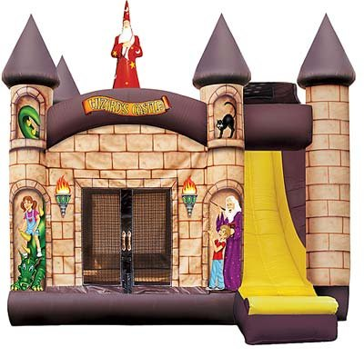 Wizards Castle 4-1 Bounce House with Slide