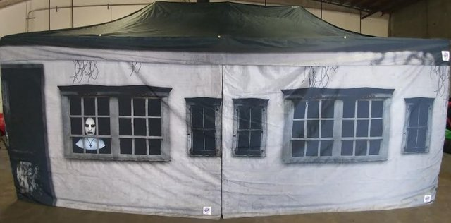 Victorian House Canopy Tent 10x20