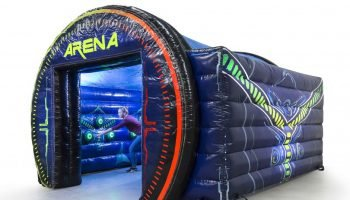 Beat the Light Inflatable Interactive Arena