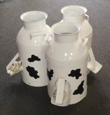 Milk Can Toss Carnival
