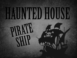 Pirate Ship Haunted House