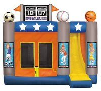 All Star 4-1 Bounce House and Slide