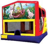 Easter Bounce House with Slide