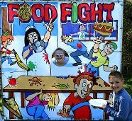 Food Fight Carnival Game