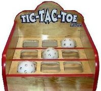 Tic Tac Toe Carnival Game