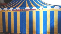 Circus Themed Canopy Tent 10x20