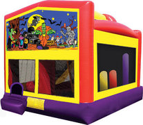 Halloween Combo 5-in-1 Bounce House with Slide