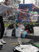 Outdoor Bubble Play