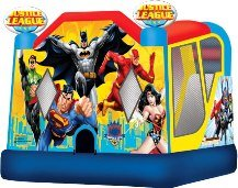 Justice League 4-1 Bounce House with Slide