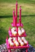 Cupcake Stand Princess Castle