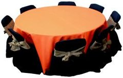Orange & Black Kids Table & Chairs