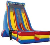27' Cliff Hanger Inflatable Slide