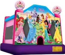Disney Princess Large Bounce House