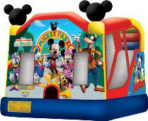 Mickey Mouse 4-in-1 Bounce House with Slide