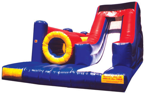 Ninja Dash Inflatable Obstacle Course