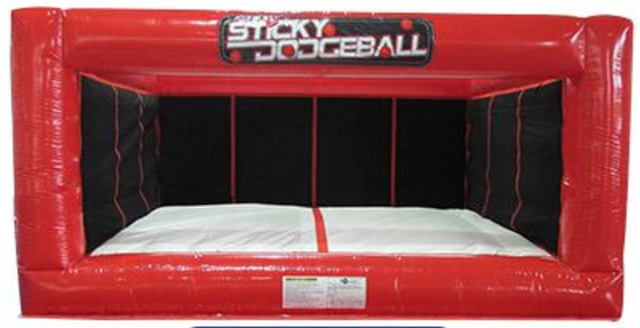 Inflatable Sticky Dodgeball