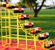 Cupcake Stand Roller Coaster