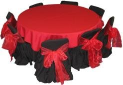 Red and Black Kids Tables and Chairs