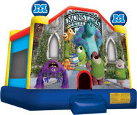 Monsters University Large Bounce House
