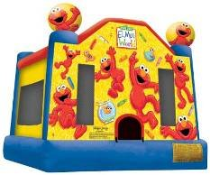 Elmo's World Inflatable Jump