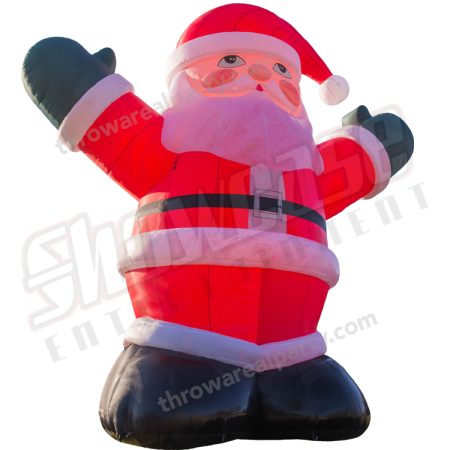 Santa Ad Inflatable