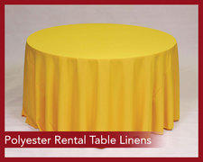 Polyester Rental Table Linens