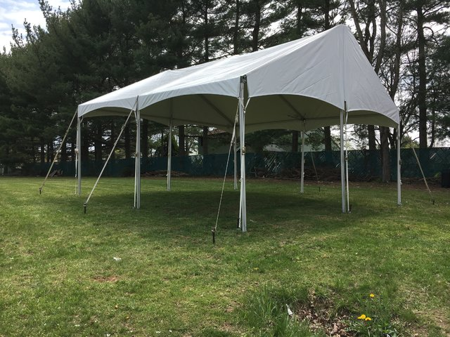 20' by 20' Keder Frame Tent Special Package